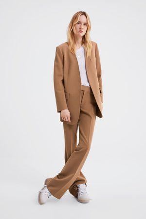 Zara Damen Jacken - Jacke mit pattentaschen