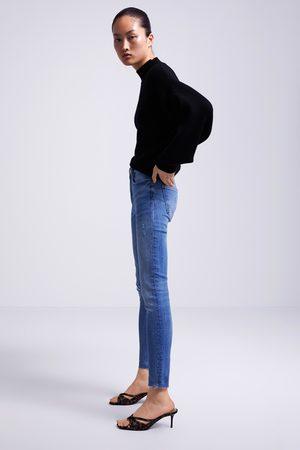 Zara Skinny-jeans zw premium 80's in sunrise blue