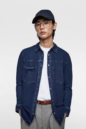 Zara Weiches jeanshemd