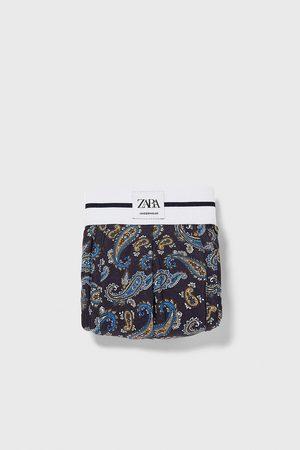 Zara Boxershorts mit paisleyprint