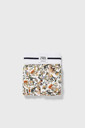 Zara Boxershorts mit barockprint