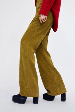 Zara CORDHOSE IN FLARE-PASSFORM