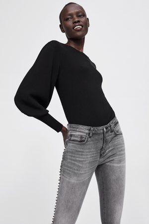 Zara Skinny-jeans z1975 mit seitenstreifen