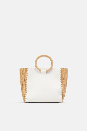 Zara Shopper in naturfarbe