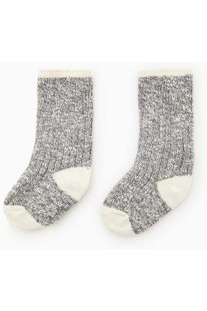 Zara Socken mit versetztem patentmuster