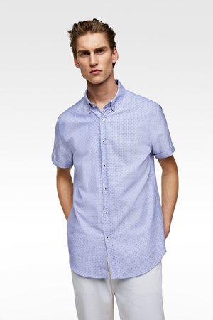 Zara Oxfordhemd mit punkten