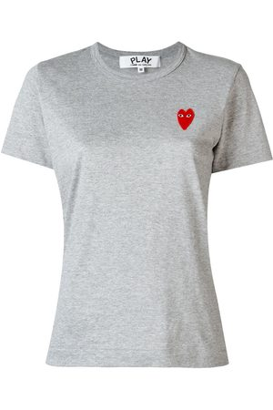Comme des Garçons Damen Shirts - Heart logo T-shirt