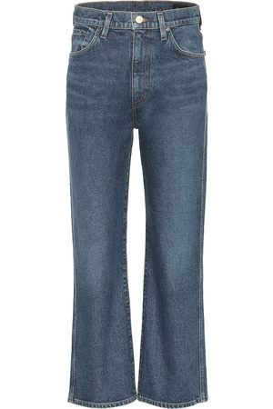 Goldsign High-Rise Cropped Jeans