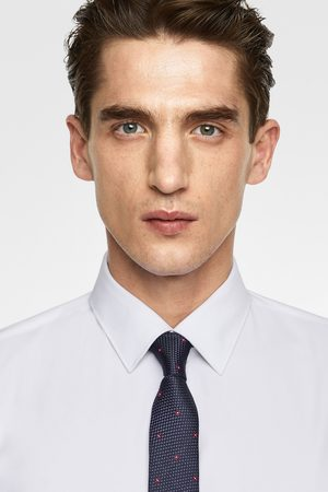 Zara Herren Krawatten - Breite geblümte jacquard-krawatte