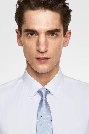 Zara Breite krawatte mit rauten