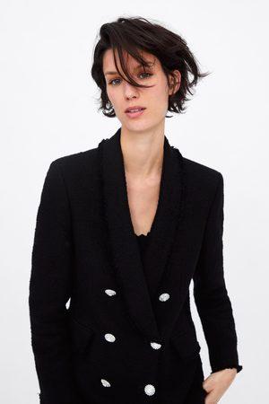 Zara Blazer mit schmuckknöpfen
