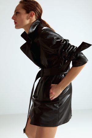 Zara Trenchcoat aus leder – limited edition