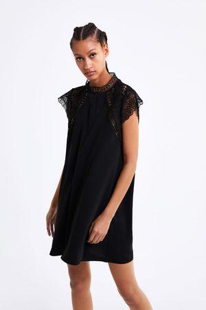 Zara Short lace dress