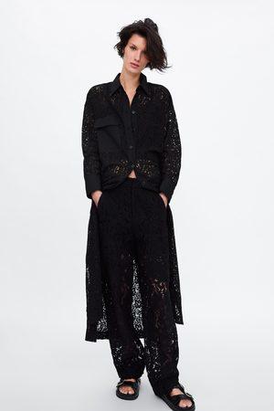 Zara Tunika mit spitze und tasche