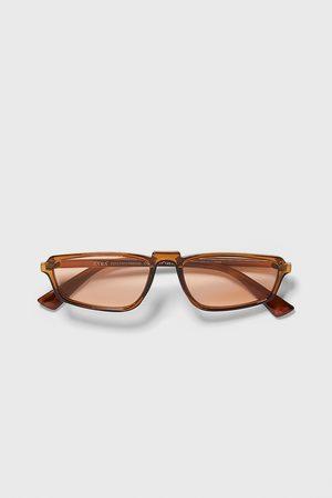 Zara Rechteckige sonnenbrille