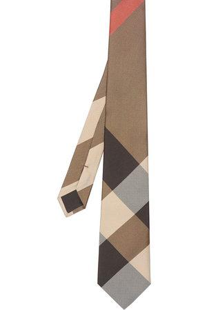 Burberry Herren Krawatten - Modern cut oversized check tie