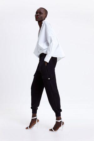 Zara Jogginghose mit taschen