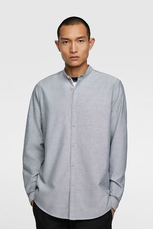 Zara Oxfordhemd mit stehkragen