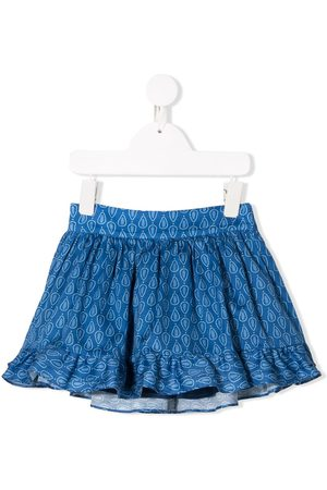 KNOT Ruffle detail skirt