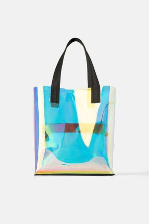 Zara Damen Shopper - Changierender shopper