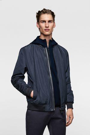 Zara Herren Sommerjacken - Contrast bomber jacket