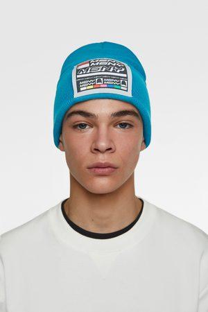 Zara Mütze mit aufnäher
