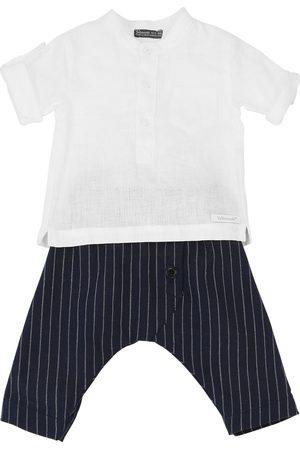 YELLOWSUB Hemd Und Hose Aus Leinenmischung