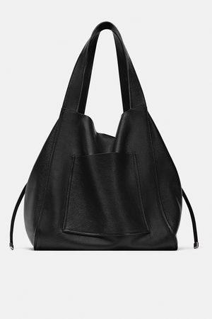 Zara Damen Shopper - Ledershopper