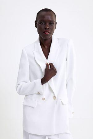 Zara Blazer mit metallknöpfen