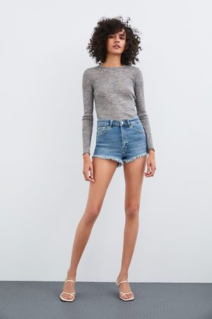 Zara Short denim hi rise