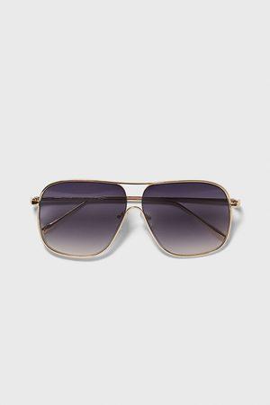 Zara Sonnenbrille mit metallgestell