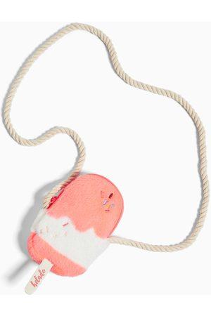Zara Mini-umhängetasche stieleis mit kunstfell