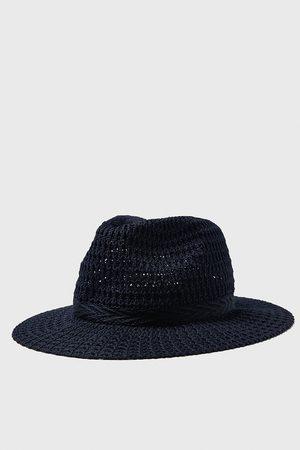 Zara Hut mit strukturmuster und band