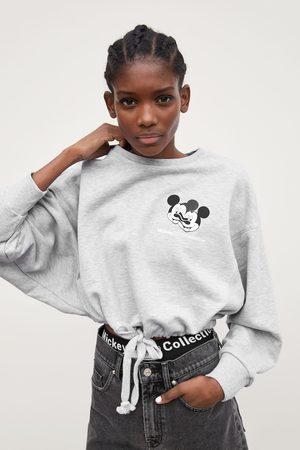 Zara Sweatshirt mickey glitch collection © disney