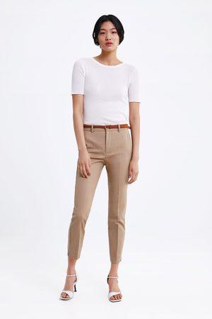 Zara Chino trousers with belt