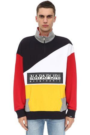 """Napapijri Sweatshirt Aus Baumwolle """"terry Bek Hz"""""""