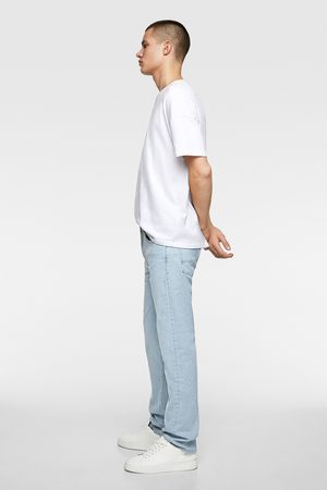 Zara Gerade geschnittene slim-fit-jeans