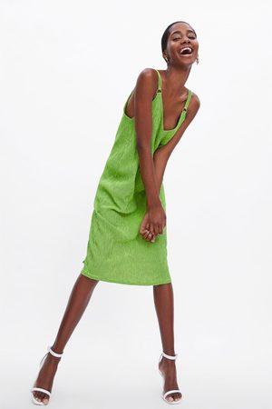 Zara Trägerkleid mit print