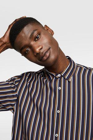 Zara Fliessendes streifenhemd