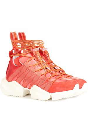 UNRAVEL Sneakers mit Veloursleder