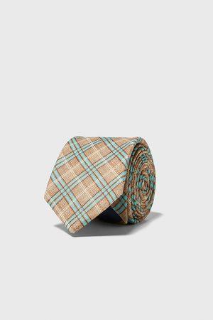 Zara Breite krawatte mit karos