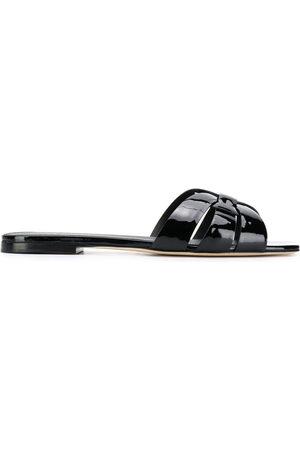 Saint Laurent Damen Sandalen - Tribute flat sandals