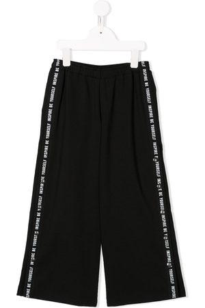 Le pandorine Mädchen Leggings & Treggings - Side striped track pants