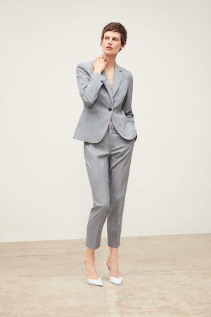 Zara Damen Blazer & Sakkos - Karierter blazer