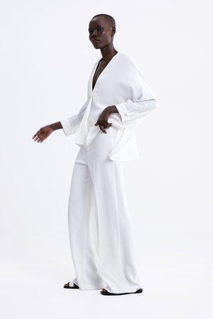 Zara Oversize-bluse