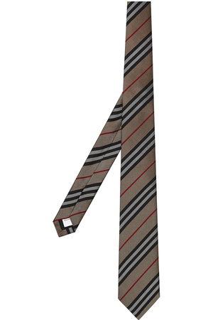 Burberry Herren Krawatten - Classic Cut Icon Stripe Silk Tie