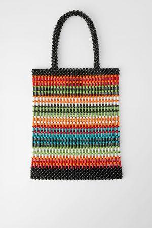 Zara Shopper mit farbiger kugelstruktur