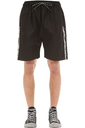 TDT - TOURNE DE TRANSMISSION Hannon Cotton Shorts W/ Side Bands