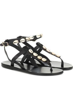 Ancient Greek Sandals Exklusiv bei Mytheresa – Verzierte Sandalen Estia