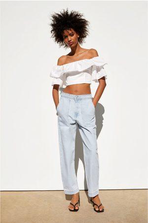 Zara Jeans mit taschen